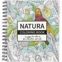Antistress-Malbuch, Natur, Größe 19,5x23 cm, 64 , 1 Stk