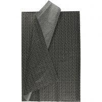 Seidenpapier, 50x70 cm, 17 g, Schwarz, 6 Bl./ 1 Pck