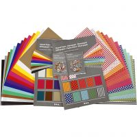 Glanzpapier, 32x40 cm, 80 g, 1 Set