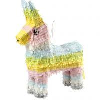 Piñata, Größe 39x13x55 cm, Pastellfarben, 1 Stk