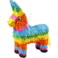 Piñata, Größe 39x13x55 cm, Kräftige Farben, 1 Stk