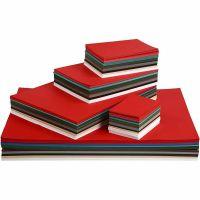 Weihnachts-Karton, A2,A3,A4,A5,A6, 180 g, Sortierte Farben, 1800 Bl. sort./ 1 Pck
