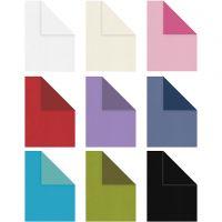 Briefpapier, A4, 210x297 mm, Inhalt kann variieren , 100 g, Sortierte Farben, 30x20 Bl./ 1 Pck