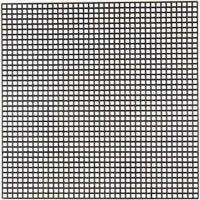 Stickmatten, Größe 14x14 cm, Lochgröße 3x3 mm, Schwarz, 5 Bl./ 1 Pck