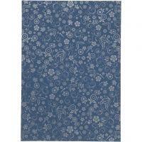 Papier, A4, 210x297 mm, 80 g, Blau, 20 Bl./ 1 Pck