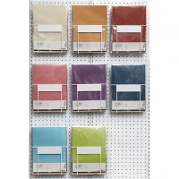 Pergamentpapier, A4, 210x297 mm, 100 g, Sortierte Farben, 8x10 Pck/ 1 Pck
