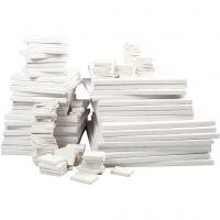 Keilrahmen, Tiefe 2 cm, Weiß, 300 Stk/ 1 Pck