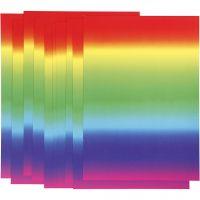 Regenbogen-Papier, A4, 210x297 mm, 180 g, 10 Bl./ 1 Pck