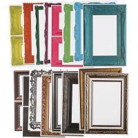 Rahmen, Größe 26,2x18,5 cm, Sortierte Farben, 64 Bl. sort./ 1 Pck