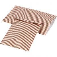Papiertüten, H: 21 cm, B: 11,5 cm, 80 g, 12 Stk/ 1 Pck