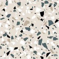 Papierservietten, Terrazzo-Muster, Größe 33x33 cm, 20 Stk/ 1 Pck