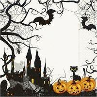 Papierservietten, Halloween, Größe 33x33 cm, 20 Stk/ 1 Pck