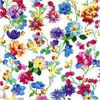 Papierservietten, Blumenwiese, Größe 33x33 cm, 20 Stk/ 1 Pck