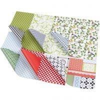 Design-Papier - Sortiment, 30,5x30,5 cm, 120 g, 30 Bl. sort./ 1 Pck