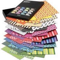 Color Bar-Karton, A4, 210x297 mm, 250 g, Sortierte Farben, 16x10 Bl./ 1 Pck