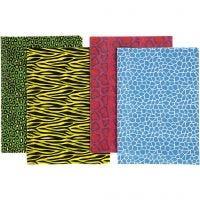 Découpage-Papier - Sortiment, 25x35 cm, 17 g, 8 Bl. sort./ 1 Pck