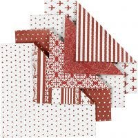 Origami-Papier, Größe 10x10 cm, 80 g, 50 Bl. sort./ 1 Pck