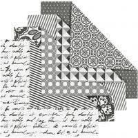 Origami-Papier, Größe 15x15 cm, 80 g, 50 Bl. sort./ 1 Pck