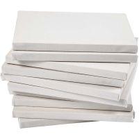 Keilrahmen, Tiefe 1,6 cm, Größe 18x24 cm, 280 g, Weiß, 40 Stk/ 1 Pck