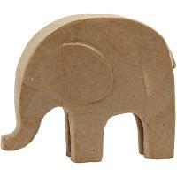 Elefant, H: 21 cm, L: 24 cm, 1 Stk