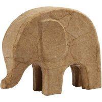 Elefant, H: 14 cm, L: 17 cm, 1 Stk