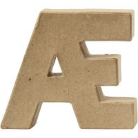 Buchstaben, AE, H: 10 cm, Dicke 2 cm, 1 Stk