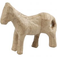 Pferd, H: 12 cm, 1 Stk