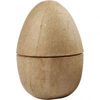 Zweiteiliges Ei, H: 12 cm, D: 9 cm, 1 Stk