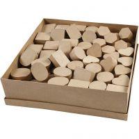 Mini-Schachteln, H: 3 cm, D: 4-6 cm, 144 Stk/ 1 Pck