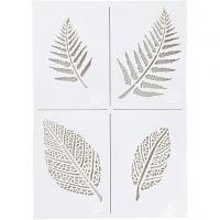 Schablone, Blätter, A4, 210x297 mm, 1 Stk