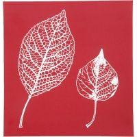 Siebdruck-Schablonen, Blätter, 20x22 cm, 1 Bl.
