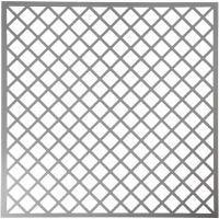 Schablone, Quadrate, Größe 30,5x30,5 cm, Dicke 0,31 mm, 1 Bl.