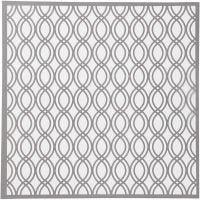 Schablone, Schlingen-Muster, Größe 30,5x30,5 cm, Dicke 0,31 mm, 1 Bl.