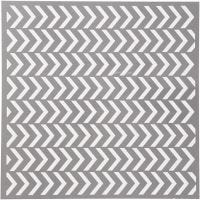 Schablone, Pfeil-Muster, Größe 30,5x30,5 cm, Dicke 0,31 mm, 1 Bl.