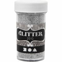 Glitter, Silber, 20 g/ 1 Dose