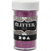 Glitter, Pink, 20 g/ 1 Dose