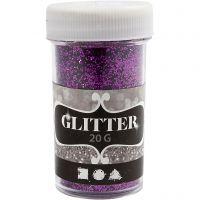 Glitter, Flieder, 20 g/ 1 Dose