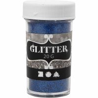 Glitter, Blau, 20 g/ 1 Dose