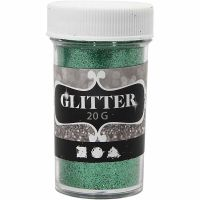 Glitter, Grün, 20 g/ 1 Dose