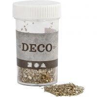 Glitter, Größe 1-3 mm, Gold, 30 g/ 1 Dose