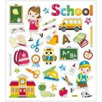 Sticker, Schule, 15x16,5 cm, 1 Bl.