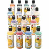 Fun & Fancy, Inhalt kann variieren , Sortierte Farben, 15x80 ml/ 1 Pck