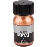 Art Metal Farbe, Kupfer, 30 ml/ 1 Fl.