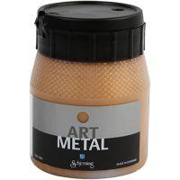 Art Metal Farbe, Dunkelgold, 250 ml/ 1 Fl.