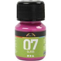 A-Color Glas-/Porzellanfarbe, Pink, 30 ml/ 1 Fl.