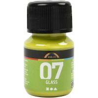 A-Color Glas-/Porzellanfarbe, Kiwi, 30 ml/ 1 Fl.