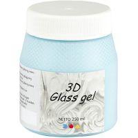 3D Glass-Gel, Azure, 250 ml/ 1 Dose