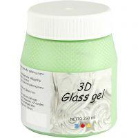 3D Glass-Gel, Grün, 250 ml/ 1 Dose