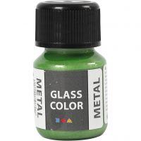 Glass Color Metal, Grün, 30 ml/ 1 Fl.
