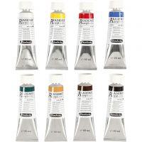 Schmincke AKADEMIE® Acrylfarbe, 8x60 ml/ 1 Pck